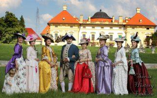Zámek Slavkov u Brna – Letní rokoko piknik 2018