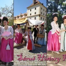 Historické oděvy na zámku Valtice – Velikonoce
