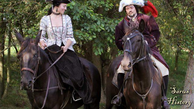 Historické focení na koních