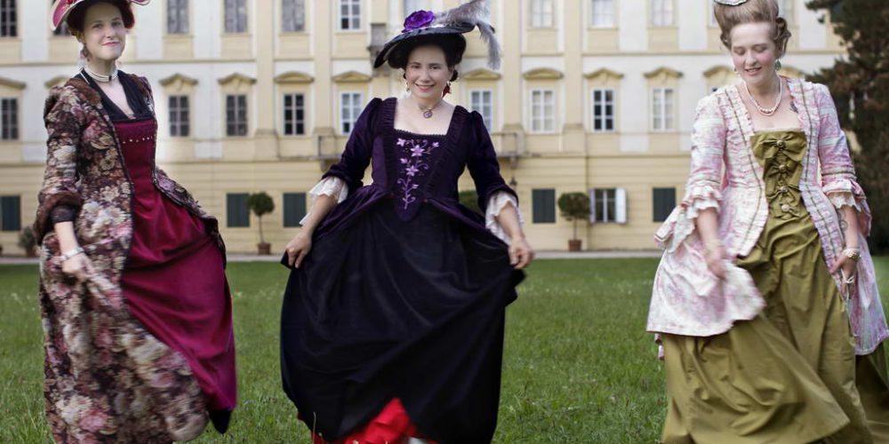 Procházka na zámku Valtice