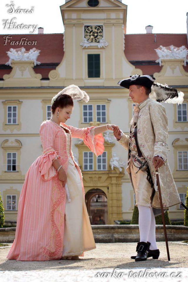 Focení na zámku Valtice 2019